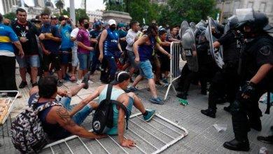 Photo of Incidentes en la despedida de Diego Maradona