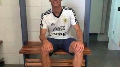 Photo of Kevin Zenón pasó su primer día en la selección Argentina Sub 20