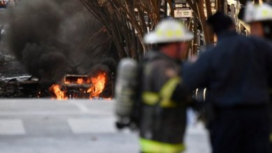 Photo of Pánico en EEUU: hubo una explosión en Nashville y creen que pudo ser un atentado