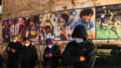 "Photo of Nápoles no deja de llorar a Maradona: ""El hombre que nos hizo soñar"""