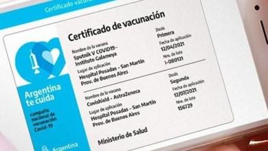 """Photo of El """"paso a paso"""" para obtener el certificado digital de vacunación contra COVID-19"""