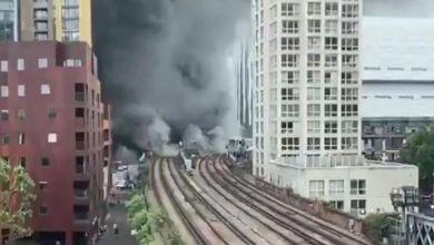 Photo of Una explosión seguida de incendio se registró en una estación del metro de Londres