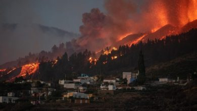 Photo of Miles de evacuados por erupción de un volcán en las Islas Canarias