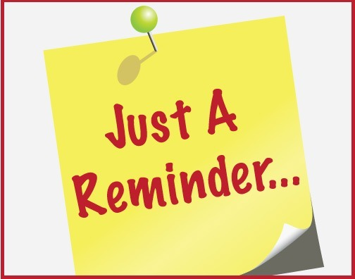 Just a Reminder! - Cadence Education