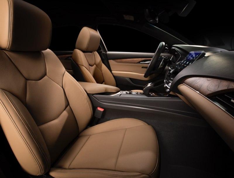 Cadillac CT5 Premium Sedan Front Passenger Seat