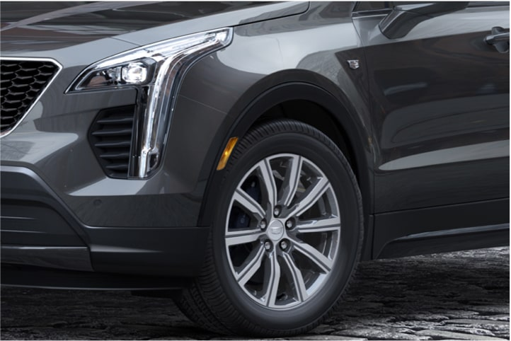 2020 Cadillac XT4 Compact SUV Front Driver Side Wheel