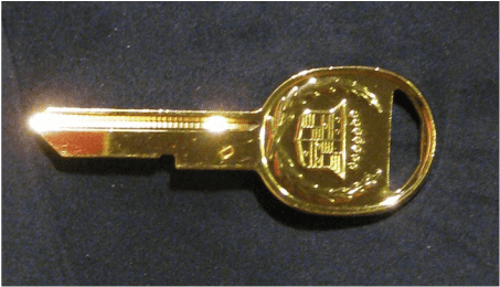 Seville Gold D Key