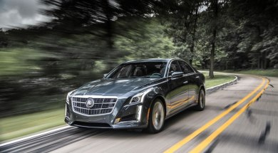 2014 Cadillac CTS Vsport: In a segment dominated by Germans, it's a serious player