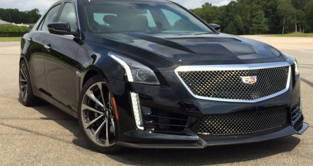 Consumer Reports - Piloting the 640-hp Cadillac CTS-V Super Sedan