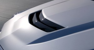 Magna manufactures the auto industry''s first volume production of carbon fiber hoods on the 2016 Cadillac ATS-V and CTS-V high performance models. (Photo credit: General Motors)