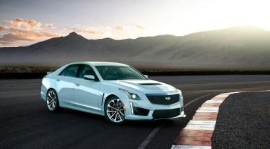 The exclusive 2018 Cadillac CTS-V Glacier Metallic Edition celeb