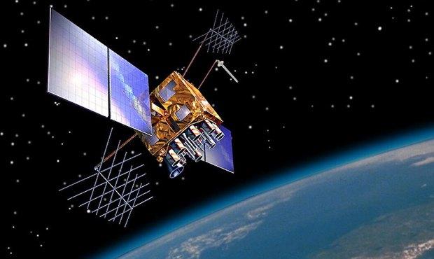 A Block IIMR satellite of the 2005-2009 period.