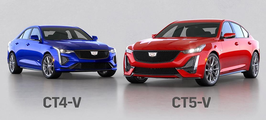 2022 Cadillac CT4-V and CT5-V Blackwing