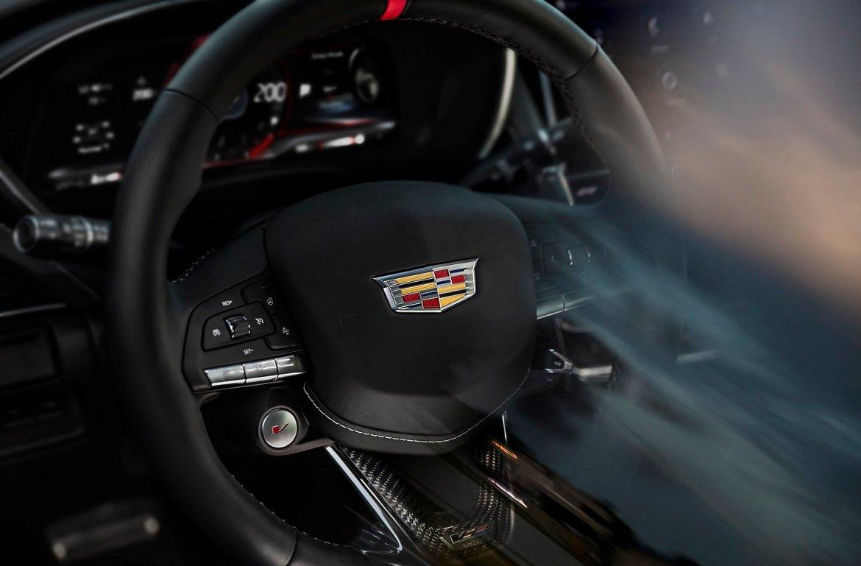 2022 Cadillac CT5-V Blackwing and CT4-V Blackwing Steering Wheel | Photo: Cadillac