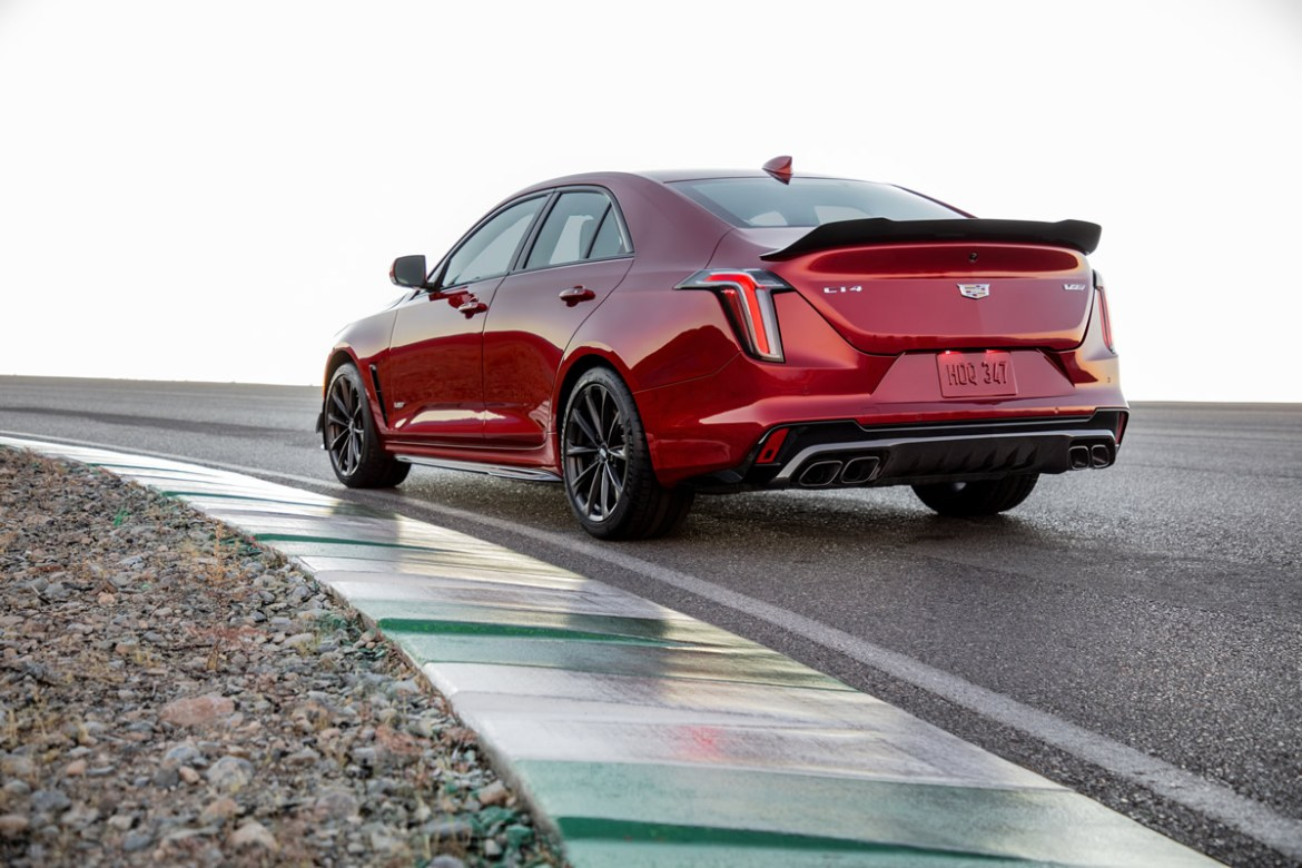 The CT4-V Blackwing will be the most powerful and fastest Cadillac ever in the subcompact class. The CT4-V Blackwing is more nimble, and benefits from extensive aerodynamic development and testing.