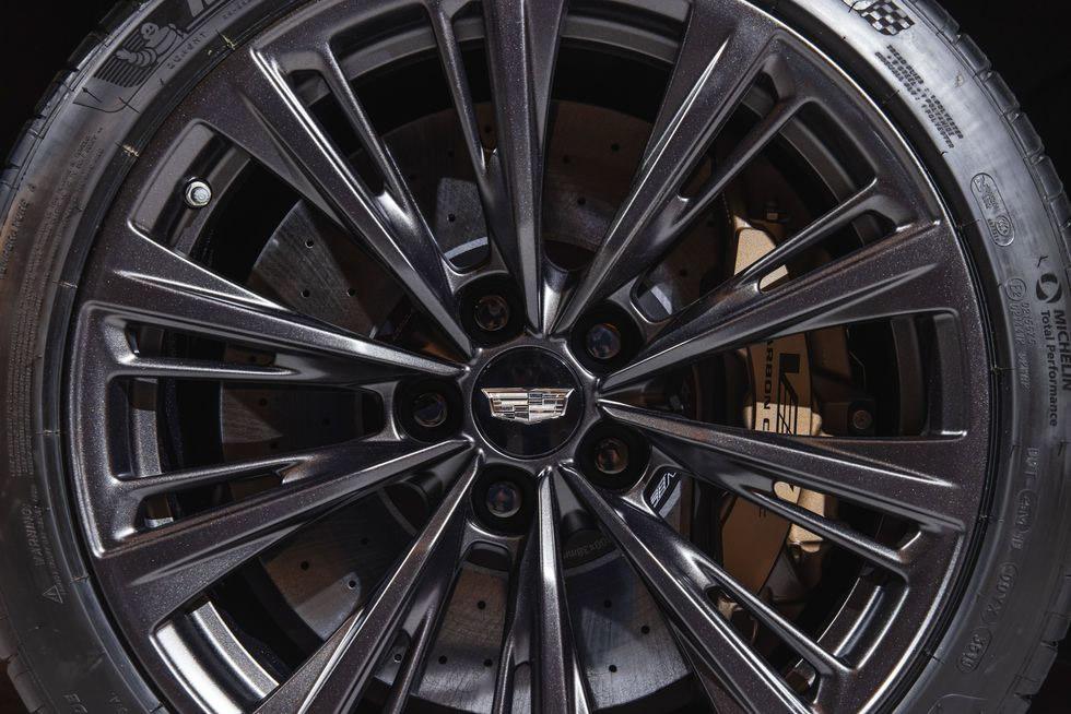 2022 Cadillac CT5-V Blackwing Carbon Ceramic Brakes by Brembo