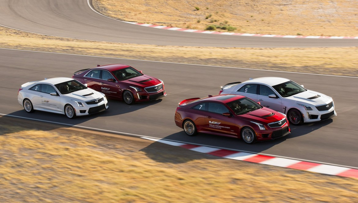 Cadillac's V-Series Academy at the Spring Mountain Motor Resort and Country Club near Las Vegas