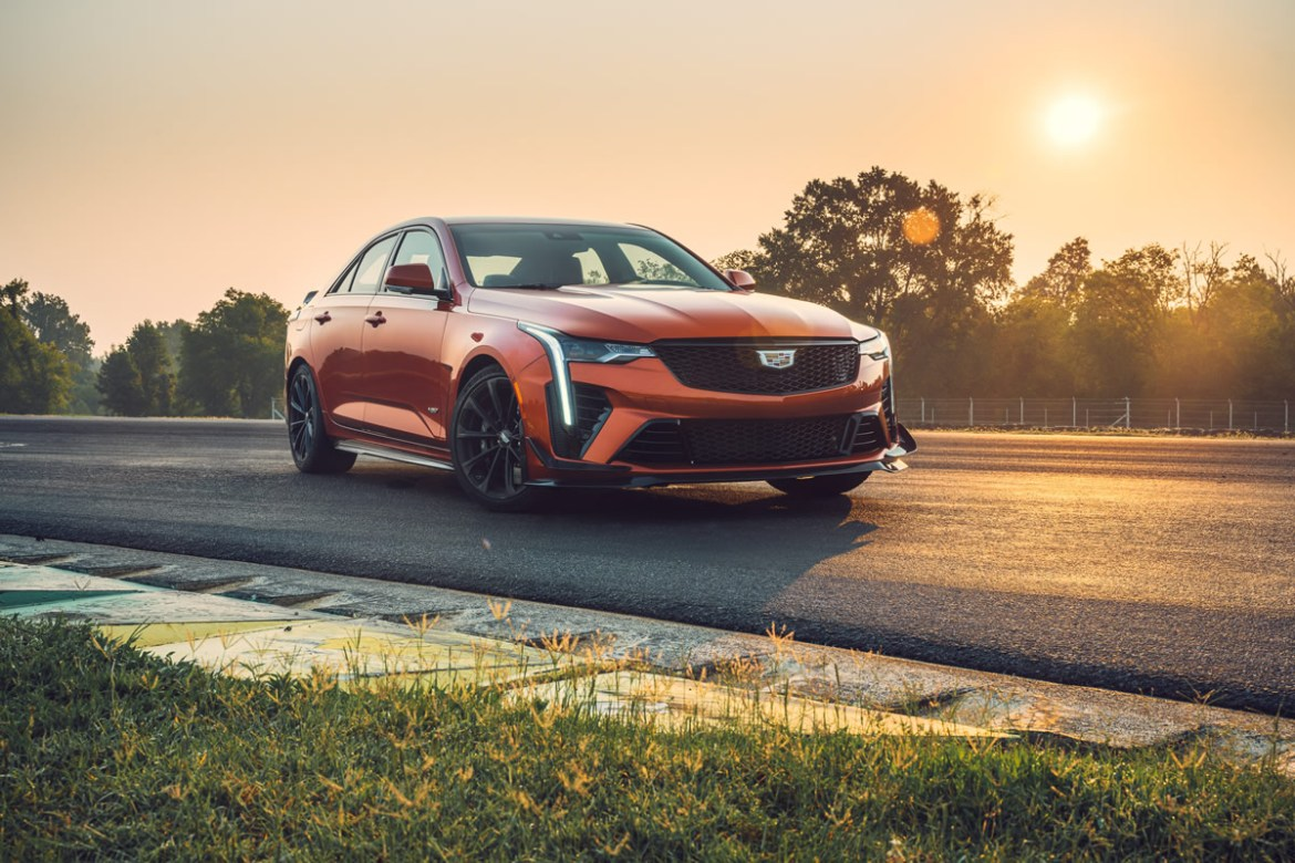 The CT4-V Blackwing combines agility, power and crafted details to deliver the ultimate Cadillac driver experience