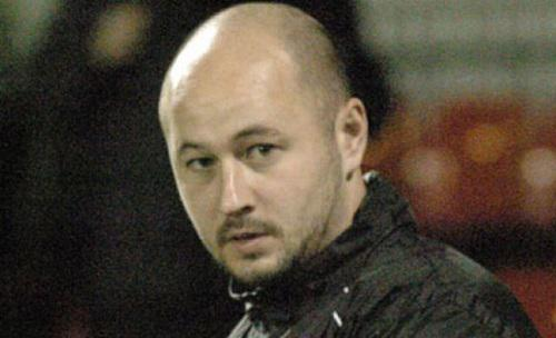 Imagen de Wayne Thorne, entrenador del Larkhall.
