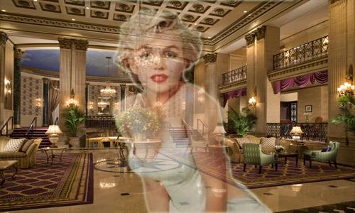El fantasma de Marilyn Monroe se aparece en el Hotel Roosevelt
