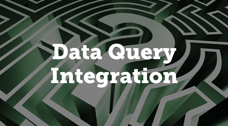 A data query works by requesting data from a third party API for use within our system.
