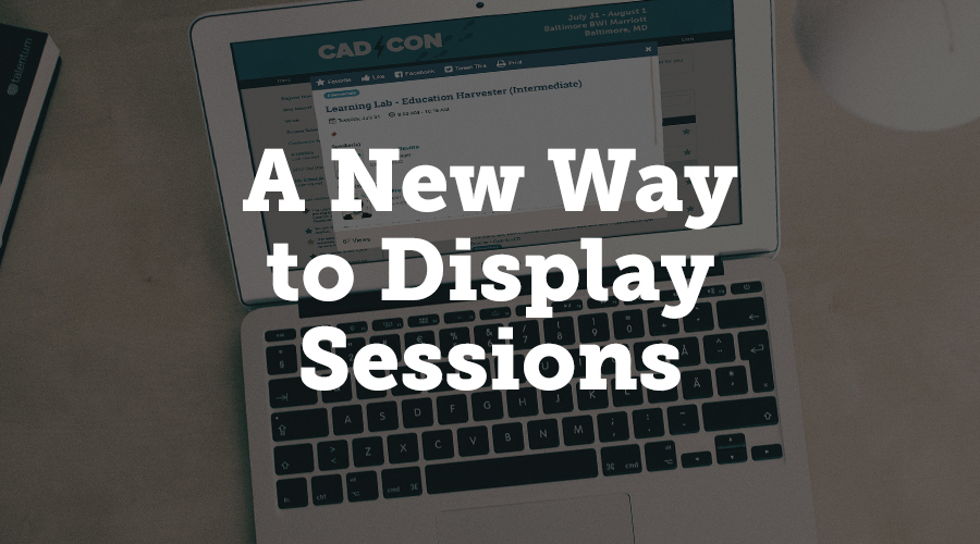 If your event is heavily session-based, we've added an alternate way to display your session data. When a user clicks the session name in the new view, the presentations will appear inside a pop up, making it easier for them to see each session at a glance. You can choose between the classic view or the new view.