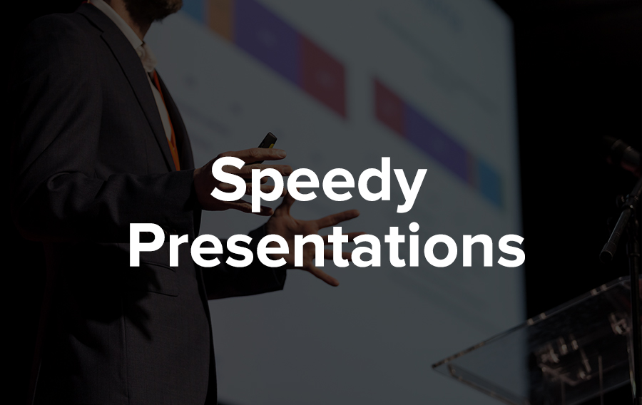 In the age where speed and time is on the essence, an emerging trend is Pecha Kucha presentations. Basically, each presenter is allowed to show up to 20 images, with 20-seconds of speaking time for each image.