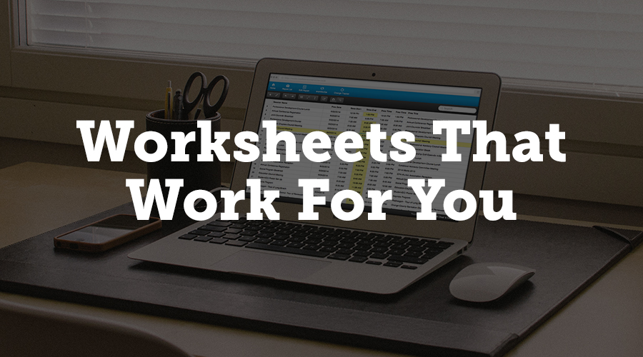 While it may look like a regular Excel spreadsheet, the worksheets in Exhibitor Harvester are so much more. You can choose to use one of the stock worksheets and pull data from Harvester, or you can create your own worksheet to match your needs perfectly. You can also update data in the Harvester from the worksheet.