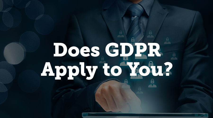 GDPR applies to any organization that processes the data of EU residents or citizens. Your company doesn't need to be based in the EU; it applies even if you don't have an EU presence. It applies if you offer goods and/or services in the EU, and if you're monitoring EU data subjects' behavior. It does not, however, apply to collecting data from an EU resident who is outside of the EU when data is collected. For example, if you're holding a medical conference in Kansas and a German citizen attends, the data you collect in the United States would not be subject to GDPR. Any data you collect while that German citizen is still in the EU, however, would be subject.