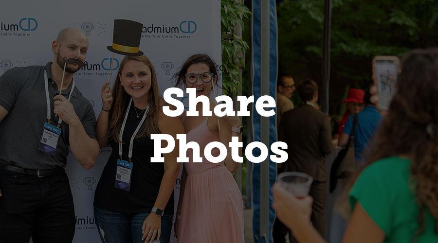 Lots of photos are going to be taken throughout the event. This includes those of the presenters, staff, and guests. Some will be individual photos, while others will be group shots. Obviously, some of these photos will go on your Instagram.