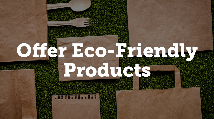 If you're looking to lure in eco-conscious attendees with your 'green' event, offer them plenty of variety when it comes to vendors. Whether eco-friendly is your sole focus or you're inviting a range of different brands across the spectrum, booking plenty of environmentally friendly vendors for the big day will echo your green ethos.
