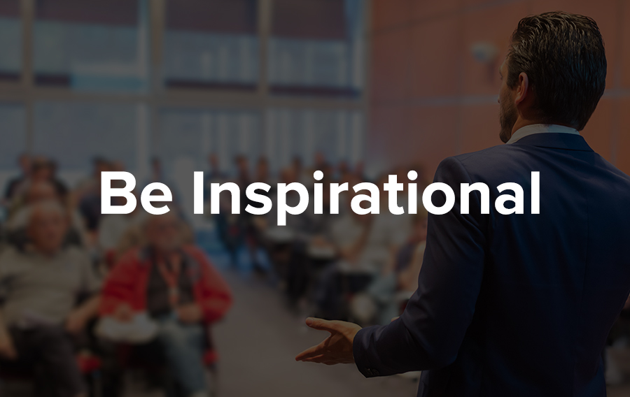 Deliver inspirational content at your events to maximize customer engagement.