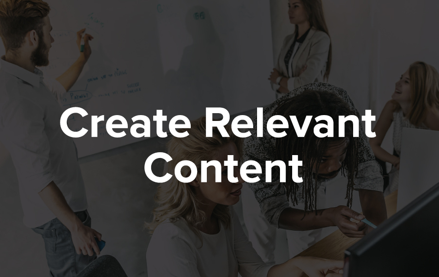 Create relevant content at your events to maximize customer engagement.