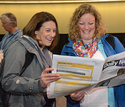 Attendees reading the NCTM Conference show daily. Sell ad packages that include both the mobile event app and show daily for the most comprehensive experience for exhibitors and attendees.