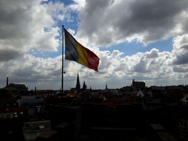 Belgian flag, Gravensteen