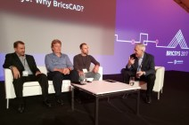 Legends on stage - Robert being interviewed by Don Strimbu at Bricsys 2017