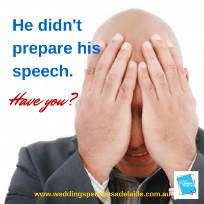 Social media posts for Adelaide Wedding Speeches