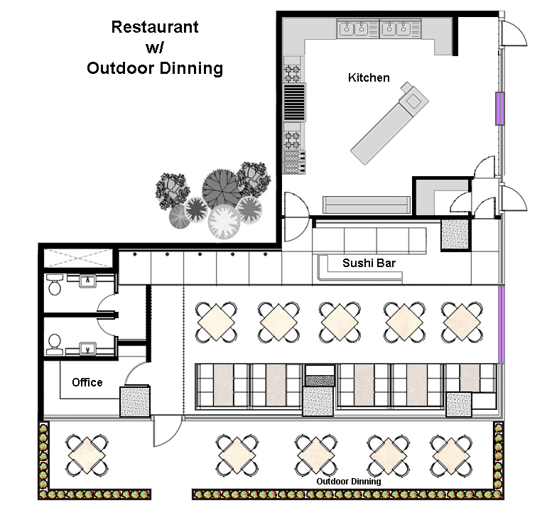 Kitchen Diner Layout Plans