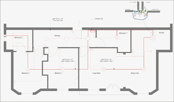 home electrical drawing software  cad pro