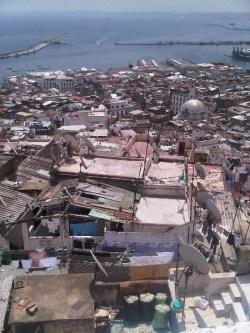 Alger, vue des toits de la Casbah