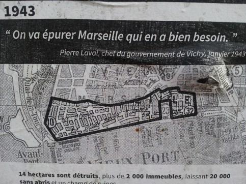 Affiche mémoire 1 - quartier Saint-Jean - Marseille 2e