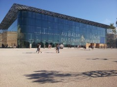 Le Mucem, face Ouest - Marseille 2e
