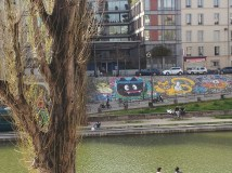 M. Chat, au bord du canal Paris 10e - 17/04/2013