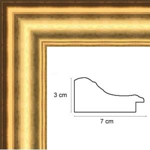 cadre bois dore 50x80 cadre tableau en