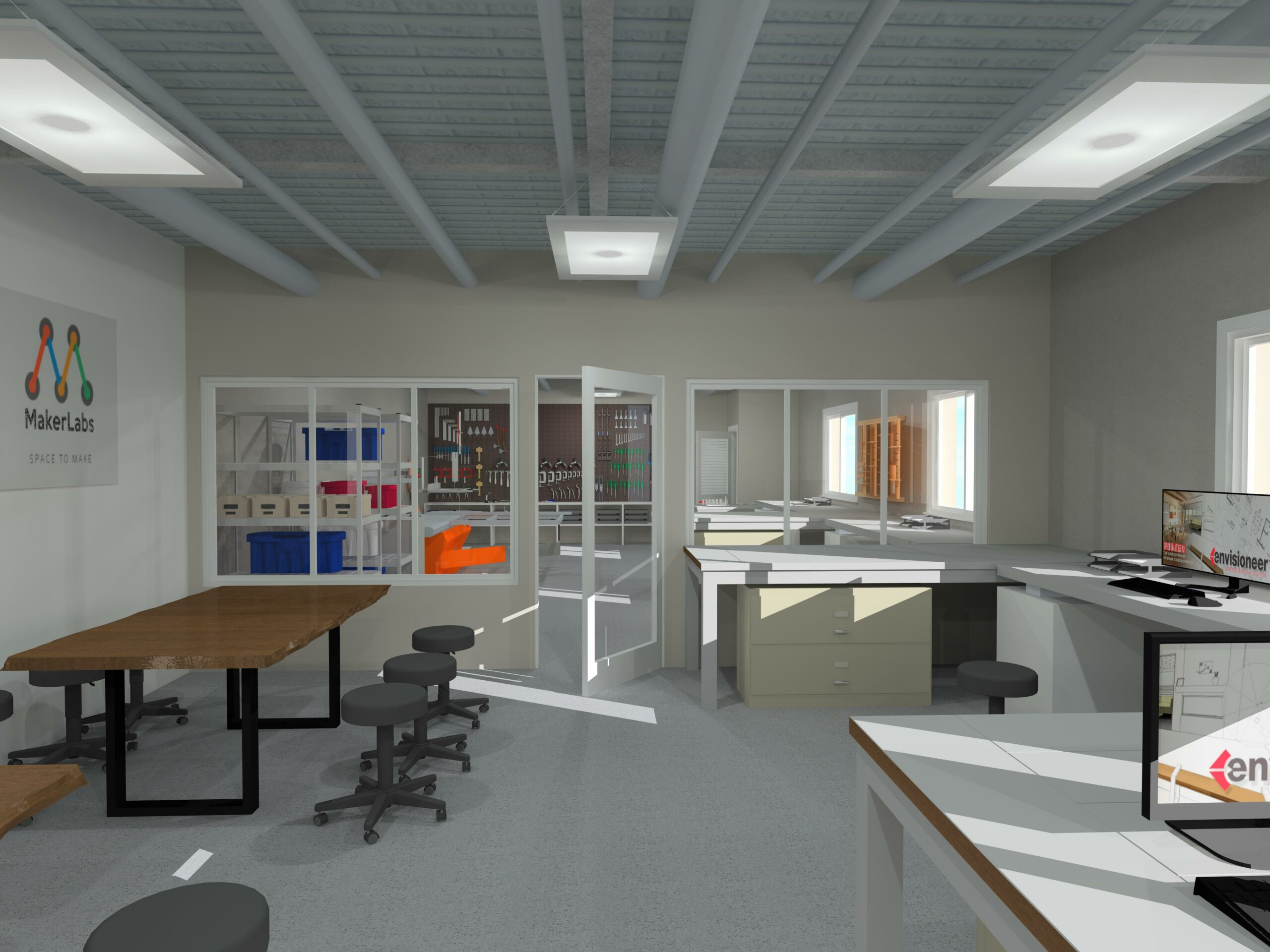 Maker Studio Rendering