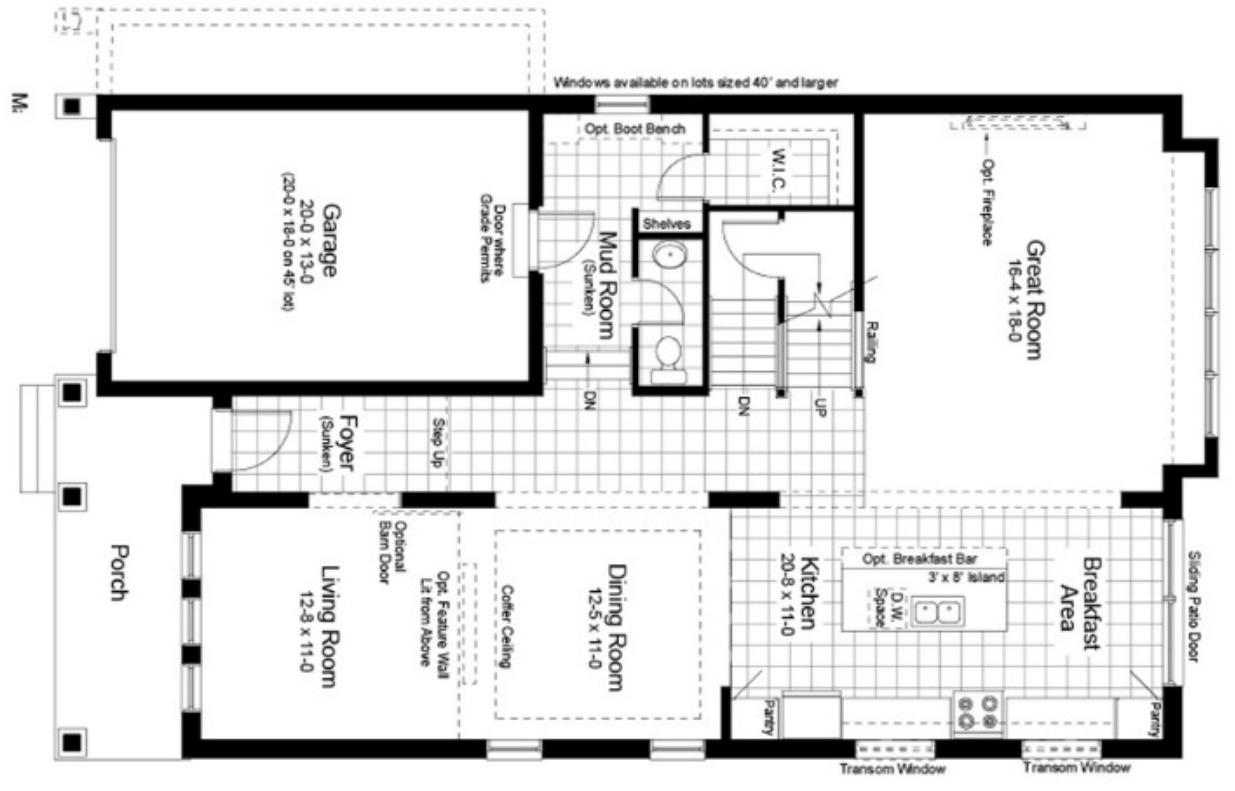 Walnut Floorplan