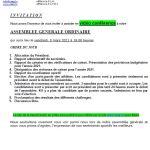 Invitation – Assemblée générale (05.03.2021) – CAEG