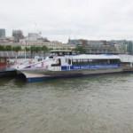 テムズ川のリバーバス