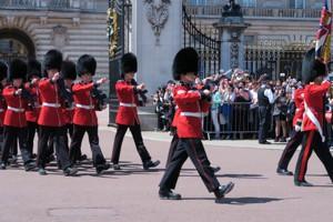 イギリス衛兵交代
