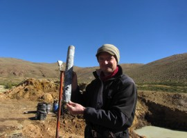 Golden Arrow Resources - Fresh Drill Core